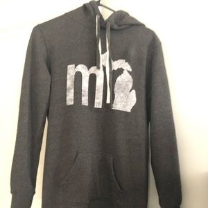 Long Michigan hoodie